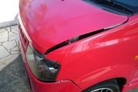 事故車:オッティ