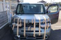 事故車:キューブ