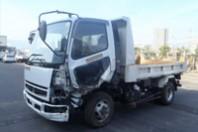事故車:ファイターダンプ