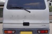 古い車:ミニキャブバン