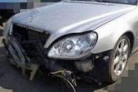 事故車:ベンツS430