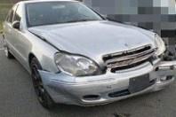 事故車:ベンツS320