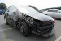事故車:ゴルフ