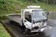 事故車:フォワードトラック
