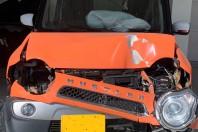 事故車:ハスラー